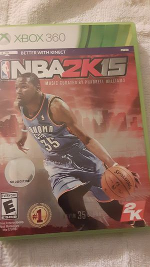 Xbox 360 NBA2K15 game for Sale in Fresno, CA