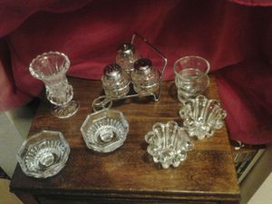 Misc. Crystle leaded candle holders for Sale in Portland, OR
