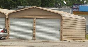 METAL 2 DOOR GARAGE for Sale in Portsmouth, VA
