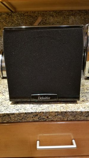 Definitive Technology SC2000 powered home theater subwoofer for Sale in San Diego, CA