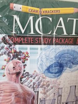 MCAT 10th Ed. Complete Study Guide Package for Sale in Darien,  IL