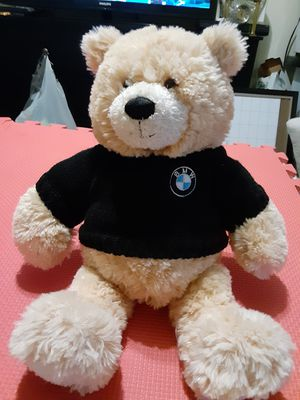 "BMW Light Tan Plush Teddy Honey Bear Made Exclusively for BMW by GUND 14"" for Sale in Lehigh Acres, FL"