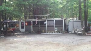 38 foot camper with room and golf cart for Sale in Waltham, MA