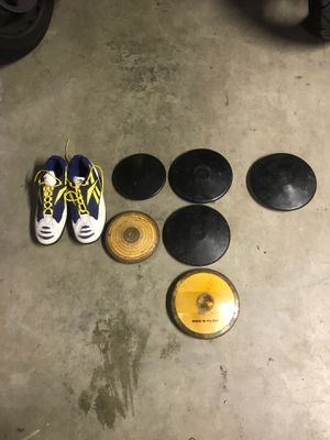 Track and Field Equipment Discus for Sale in Woodway, WA