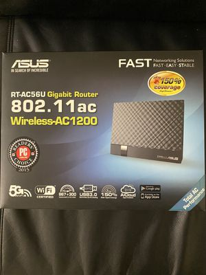 ASUS Gigabit Router RT-AC56U for Sale in Boston, MA
