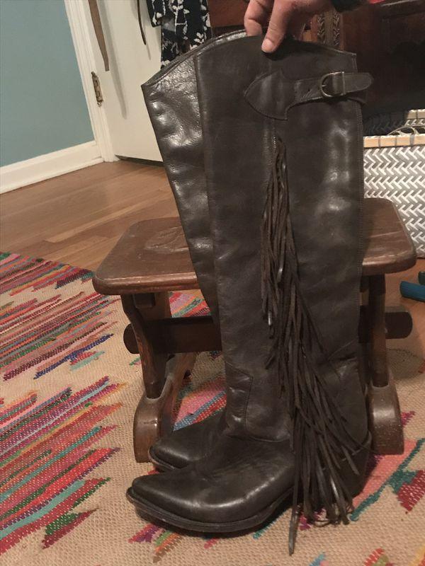 ASH genuine leather handmade boot 8.5