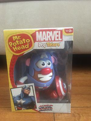 Marvel Mr. Potato Head Captain America Pop Taters for Sale in Mount Vernon, NY