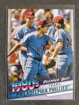 Topps 1980s Decades' Best Phillies - Pete Rose (Rare) for Sale in El Paso, TX