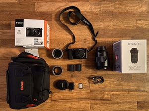 Sony a6000 mirrorless camera bundle for Sale in Seattle, WA