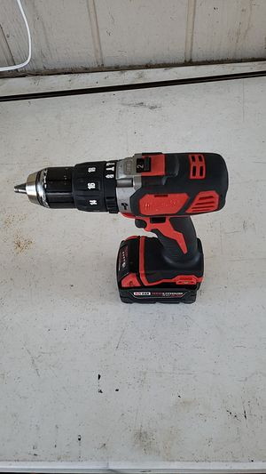 Milwaukee M18 drill hammer with 3.0 battery for Sale in Tempe, AZ