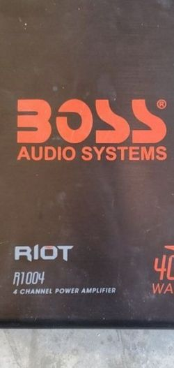 Boss RIOT R1004 400 Watt Car Amplifier for Sale in Nellis Air Force Base,  NV