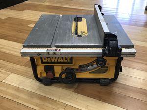 """Dewalt 10"""" Table Saw DW745 for Sale in Framingham, MA"""