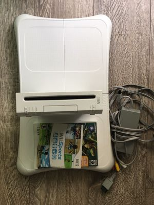 Wii and wii fit for Sale in Santa Monica, CA