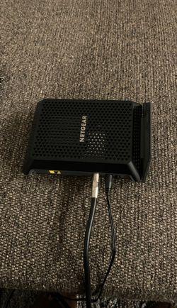 Netgear cm700 cable modem for Sale in Arlington,  VA