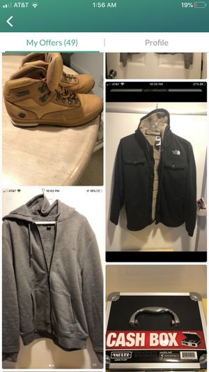 Great deal! Northface. Timberland. Kors. Cash box for Sale in NO POTOMAC, MD