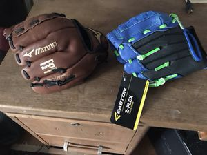 Brand new baseball gloves. for Sale in Concord, MA