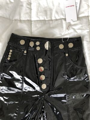 Designer style Faux Patent Leather Pants Sz 24 for Sale in Seattle, WA