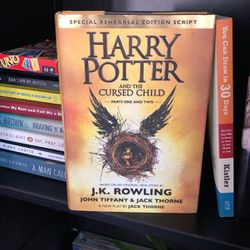 Harry Potter And The Cursed Child - Book Based On J. K. Rowling for Sale in Houston,  TX