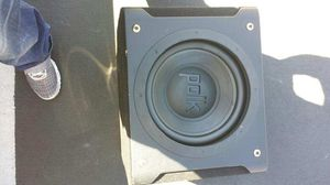 "POLK AUDIO 12"" SUBWOOFER IMPORTED BOX for Sale in Union City, CA"