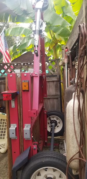 Harbor freight trailer almost new,used 3 times. for Sale in Vancouver, WA