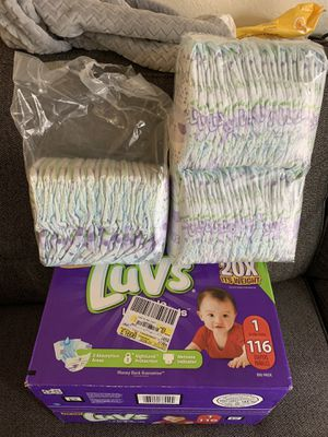 Diapers , Baby Boy Clothes , Toddler Girl Clothes , Women's Clothes for Sale in Riverside, CA