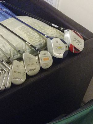 Assorted Golf clubs and drivers 14 total for Sale in Alexandria, VA
