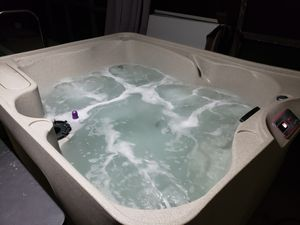 Azure sand color hot tub for Sale in Cape Coral, FL