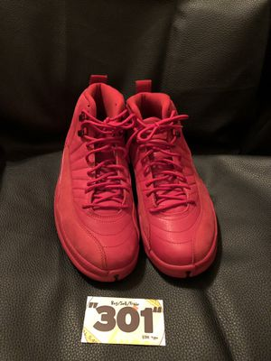 "Jordan 12 ""Gym Red"" size 10 for Sale in Washington, DC"