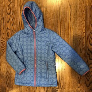 Lands' End Girls Packable Jacket Size Large 6X-7 for Sale in Pittsburgh, PA