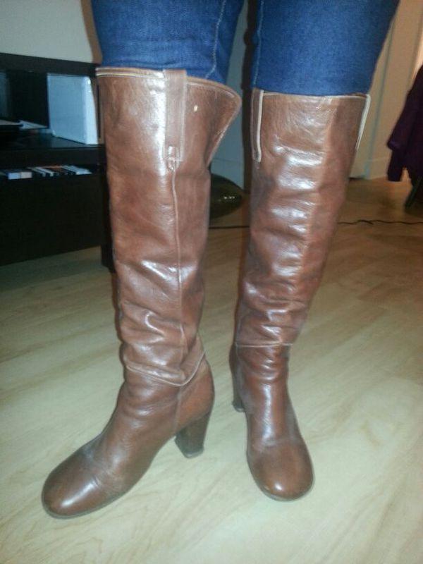 John Fluevog Brown Boots Size 10