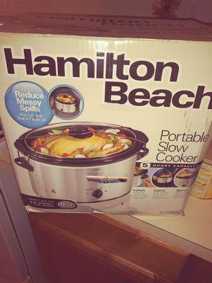 New. Hamilton Beach Slow Cooker for Sale in Orlando, FL