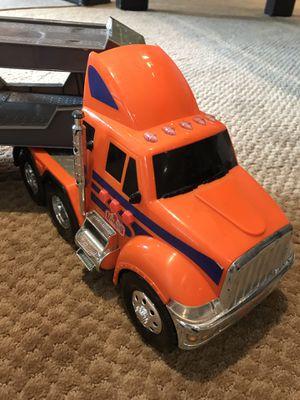 "Toy Tonka Truck w/Car Carrier Trailer-7""x30"" for Sale in Ashburn, VA"