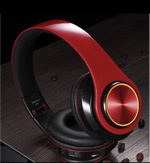 Headphone wireless Bluetooth, microphone, noise cancellation and led light for Sale in Downey, CA