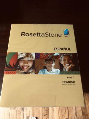 Rosetta Stone Spanish Lessons for Sale in Fairfax, VA