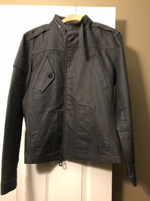 Monarchy biker jacket with tucked in hood for Sale in Gardena, CA