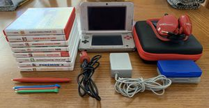 Nintendo 3DS XL Bundle with Games and Accessories for Sale in Clarksburg, MD