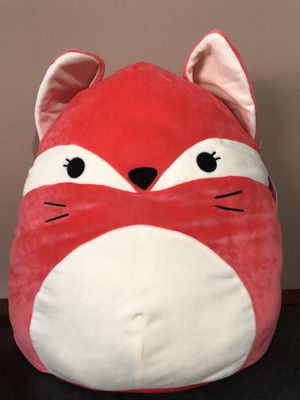 """New Squishmallow Fox 16"""" Pillow Plush Toy for Sale in Alhambra, CA"""