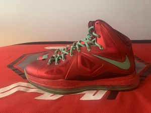 Nike Lebron X Christmas Day Edition for Sale in Columbus, OH