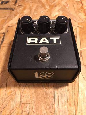 Proco rat 87 ( vintage pedal, guitar pedal, overdrive pedal, distortion pedal, fuzz pedal, boss distortion, Ibanez tubes screamer, digitech, fullton for Sale in Los Angeles, CA
