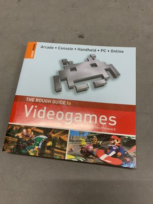 The rough guide to video games book for Sale in Davenport, FL