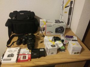 Canon EOS Rebel T6 digital camera and accessories for Sale in Everett, WA