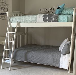 Both Full size bunk beds with ladder and mattress for Sale in Chandler, AZ
