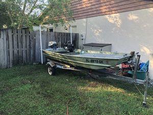 Jon Boat & Trailer for Sale in Alafaya, FL