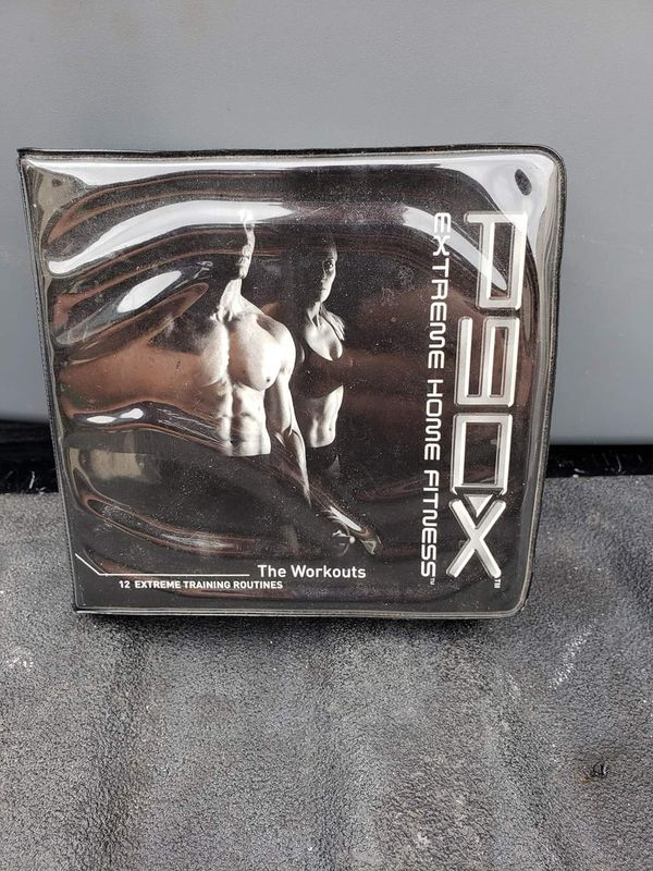 P90X Extreme Home Fitness Workout 12 DVD Program