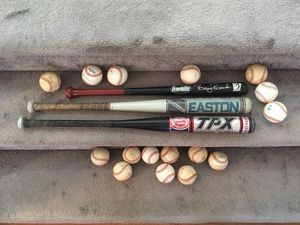 Baseball Bats and Baseballs for Sale in Irvine, CA