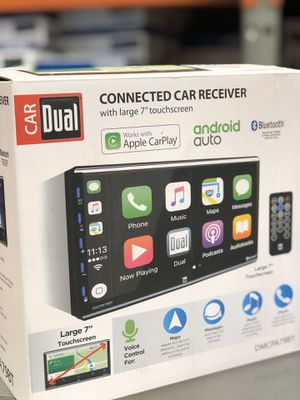 """Android Auto and CarPlay 7"""" stereo for Sale in Glendora, CA"""