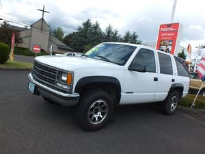 1999 Chevrolet Tahoe for Sale in Cornelius, OR
