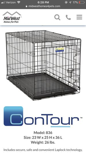 """Midwest contour 36"""" dog crate for Sale in Oakland, CA"""