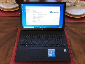 """15"""" HP Touchscreen Laptop + Windows 10 for Sale in Leesburg, FL"""
