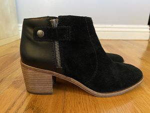 Madewell Suede and Black Leather Boots 7.5 Womens for Sale in Monrovia, CA